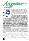 EvangElischEr gEmEindEbotE dEr KirchEngEmEindE lispEnhausEn - Seite 2