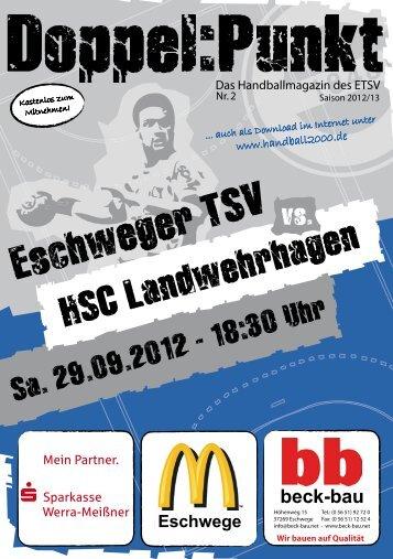 HSC Landwehrhagen - Eschweger TSV