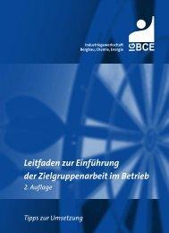Leitfaden Zielgruppenarbeit - IG BCE