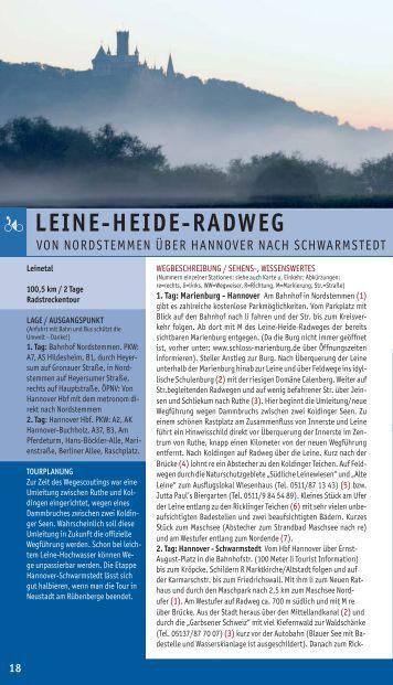 LEINE-HEIDE-RADWEG - Tourismus Region Hannover eV