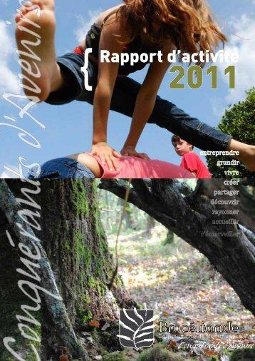 Rapport d'activité - Communauté de Communes de Brocéliande