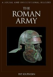 The Roman Army: A Social and Institutional History - Karatunov.net