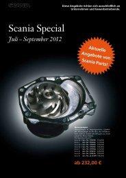 September 2012 Aktuelle Angebote von Scania Parts!