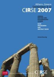 CIRSE 2007 - CIRSE.org