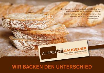 Philiosophie ALB-RECHT - albrechtkauderer.de