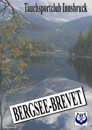 BERGSEE - BREVET - 1. Tiroler Tauchsport-Club Innsbruck