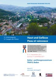 Hauptprogramm - congress-info.ch | Home