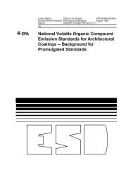 National Volatile Organic Compound Emission Standards - US ...