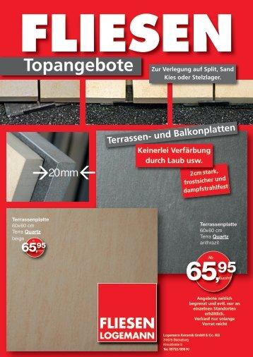 Topangebote als PDF ausdrucken - Fliesen Logemann