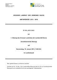 10.01.2013 - Gemeinde Davos