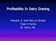 Profitability In Dairy Grazing - Michigan Food & Farming Systems ...