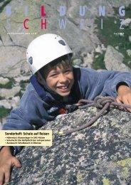 Sonderheft: Schule auf Reisen - beim LCH