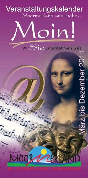 Veranstaltungskalender 2011 ... - Moormerland