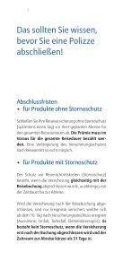 Allianz Global Assistance Reiseversicherung - Seite 5