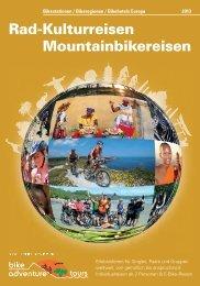 Katalog 2013 - Bike Adventure Tours