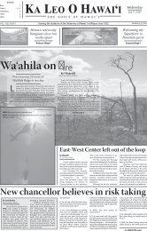 Wa'ahila on - ScholarSpace - University of Hawaii