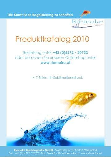 +43 (0) - Riemake Werbeagentur GmbH