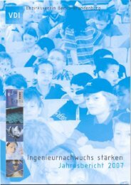 Der Bericht 2007 - (VDI) Berlin-Brandenburg