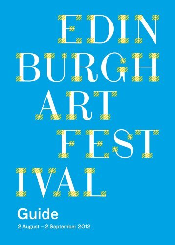Guide - Edinburgh Art Festival
