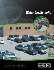 Water Quality Units Brochure - Advanced Drainage Systems