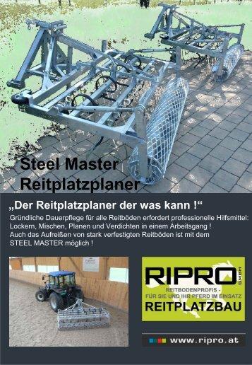 """Steel Master """"im Einsatz !"""" - Ripro"""