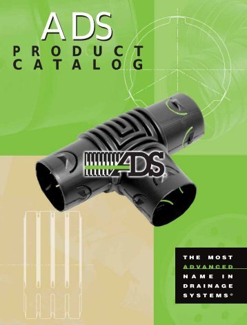 Product catalog - Advanced Drainage Systems