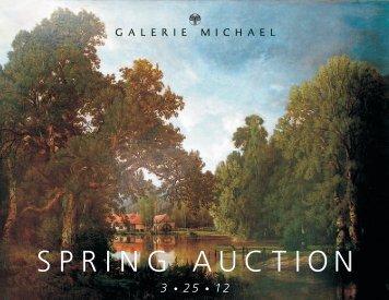 SPRING AUCTION - Galerie Michael
