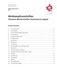 Wettkampfvorschriften - Schweizer Meisterschaften Vereinsturnen ...