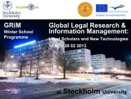 GRiM Global Legal Research & Information Management: