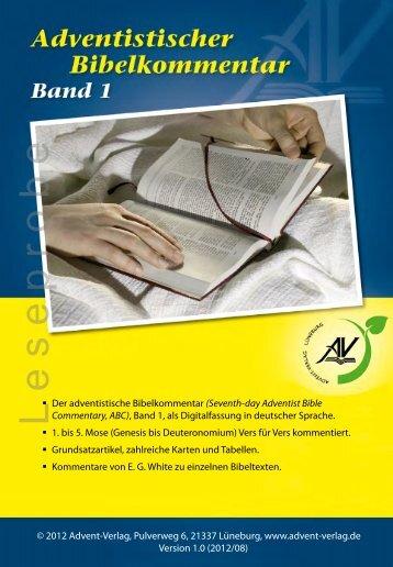 (ABC), Band 1 - LESEPROBE - Advent-Verlag Lüneburg