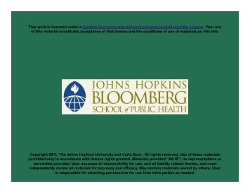 Epidemiology of Stress Disorders - Johns Hopkins Bloomberg ...