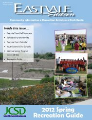 Spring Recreation Guide - Parks - Jurupa Community Services District