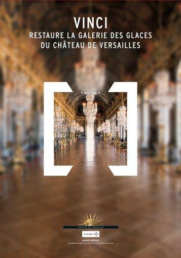 restaure la galerie des glaces du château de versailles - Vinci