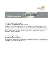 Wechsel in der Geschäftsführung der Fa. Alexander Flocke ...