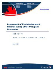 Assessment of Photoluminescent Material During Office ... - EverGlow