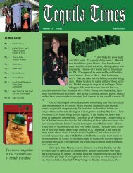 March 2010 Newsletter PDF - ParrotHeads in an Amish Paradise ...