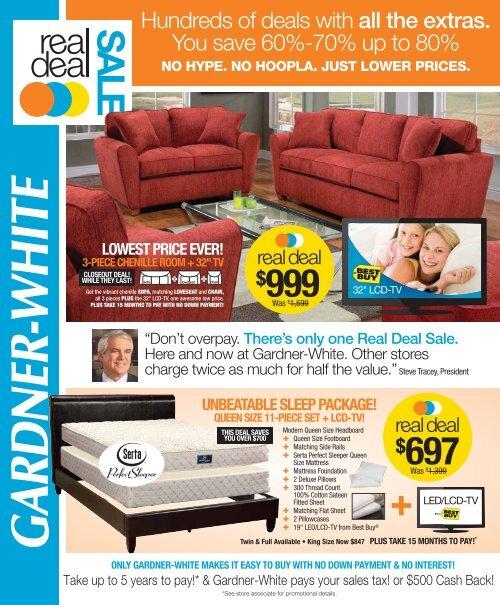 Lowest Price Ever Gardner White Furniture