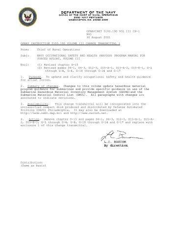 opnavinst 510019d vol iii ch 1 squidly1s navy air study blog