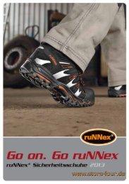 Neu bei uns: ruNNex-Schuhe ... Katalog? - store four