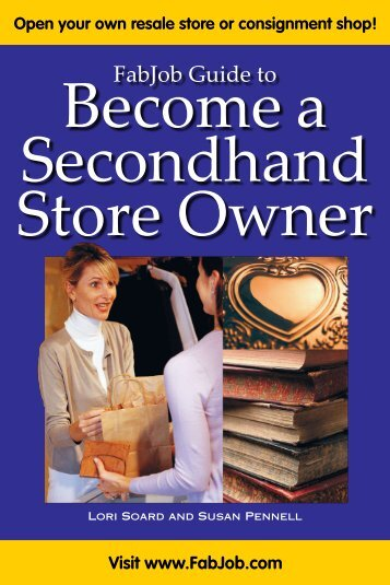 Secondhand Store Owner - Fabjob.com
