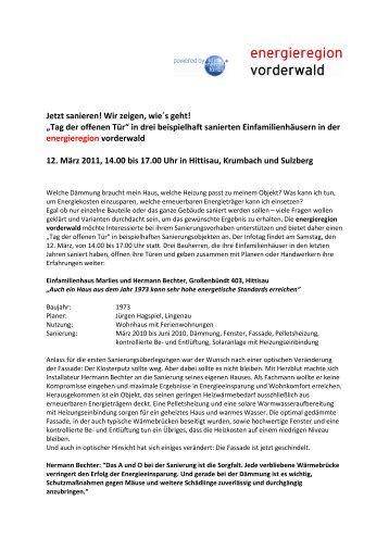 Genauere Beschreibungen der Sanierungsobjekte ... - Riefensberg