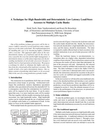 A Technique for High Bandwidth and Deterministic Low Latency ...