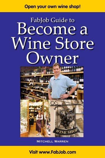 Wine Store Owner - Fabjob.com