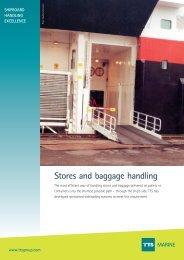 Stores and baggage handling MARINE - TTS Group ASA