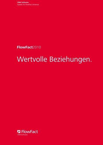 FlowFact2010 - FlowFact AG