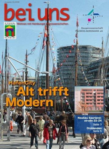 """Bei uns"" - Ausgabe 4.2008 (.pdf) - der Baugenossenschaft ..."