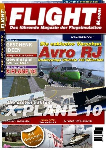 FLIGHT! Magazin 12/2011 - FLY737
