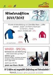 Winteraktion 2011/2012 - Radsport Plöckinger