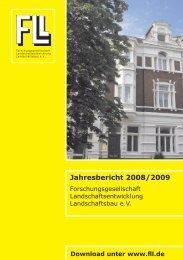 Jahresbericht 2008/2009 - FLL