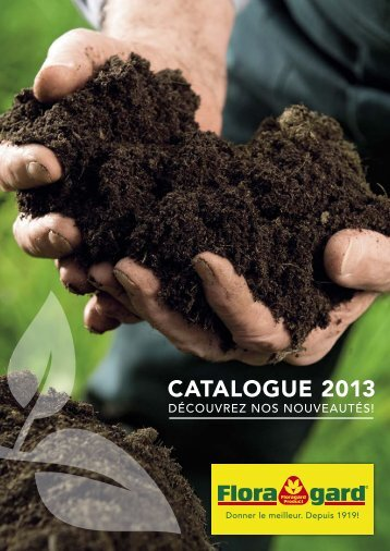 Catalogue 2013 - Floragard Vertriebs GmbH